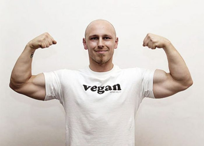 Adopt a Vegan or Vegetarian Diet Vegan Bodybuilder