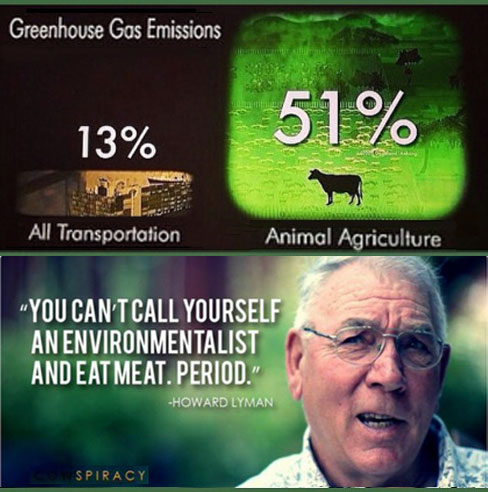 Adopt a Vegan or Vegetarian Diet Greenhouse Gas Emissions