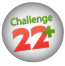 Adopt a Vegan or Vegetarian Diet Challenge 22 Plus Logo