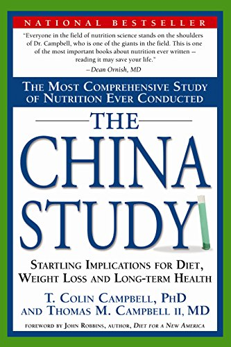 Adopt a Vegan or Vegetarian Diet The China Study