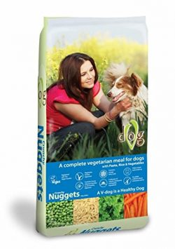 Adopt a Vegan or Vegetarian Diet  V Dog Crunchy Nuggets