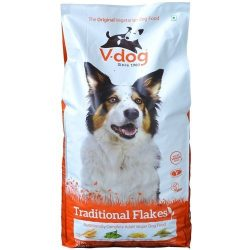 Adopt a Vegan or Vegetarian Diet  V Dog Traditional Flakes
