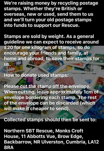 Collect and Recycle to Help Animals Northern Staffordshire Bull Terrier Rescue Poster
