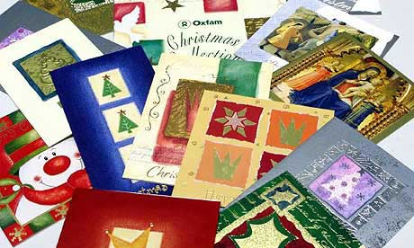 Old Christmas and Birthday Cards