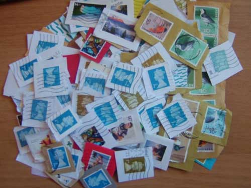 Used Stamps For Charity