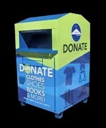 Charity Recycling Bin
