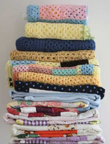 Declutter Your Home and Help Animals Donated Blankets