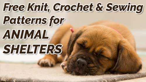 Knitting Ideas to Help Animals Animals Free Knit Crochet and Sewing Patterns