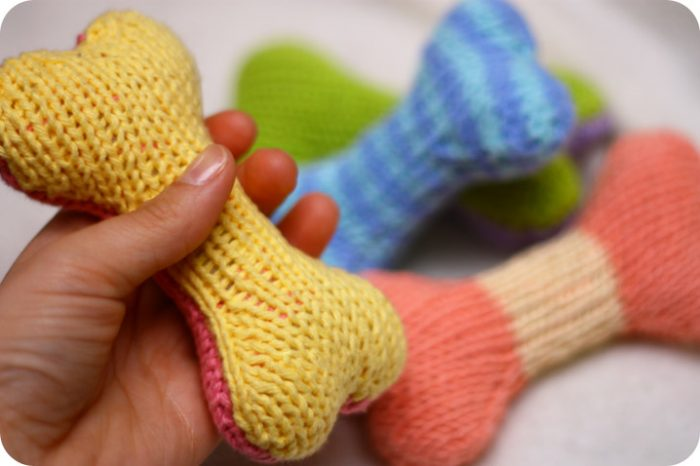 Knitting Ideas to Help Animals Knit Toy Dogs For Rescue Dogs