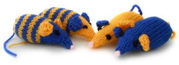 Knitted Toys For Cats