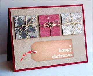 Recycle Christmas Cards Greetings Cards Gift Tags Wrapping Paper Example 1
