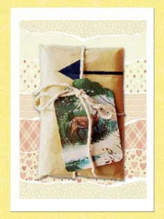 Recycle Christmas Cards Greetings Cards Gift Tags Wrapping Paper Example 3