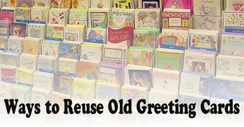 Recycle Christmas Cards Greetings Cards Gift Tags Wrapping Paper Ways to Reuse Old Greeting Cards