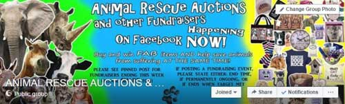 Animal Rescue Auctions
