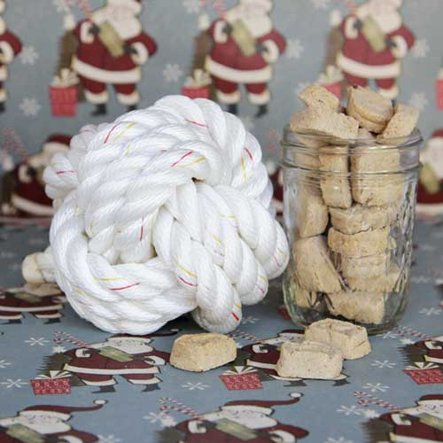 Free Crafting Ideas No Sew Make a No Sew Treat Ball From Rope
