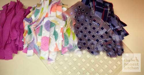 No Sew Snuggle Mat Materials