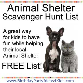 Fundraising Charity Events For Animals Scavenger Hunt Fundraisers