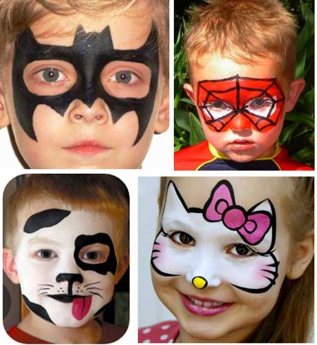 Facepainting At Charity Event Stalls