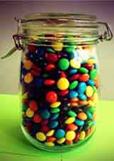 Guess How Many Sweets In The Jar Game