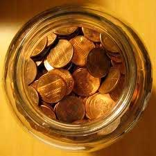 Guess How Many Tuppences In The Jar Stall Game