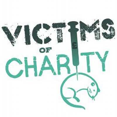 Victims of Charity Logo