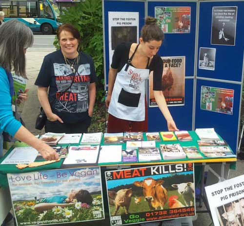 Help Stop Animal Abuse With Protests and Demonstrations Animal Rights Activists Information Table
