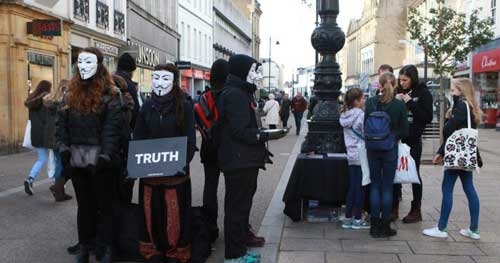 Help Stop Animal Abuse With Protests and Demonstrations Anonymous For The Voiceless Activists
