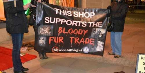 Banners to Prevent People Entering Shops