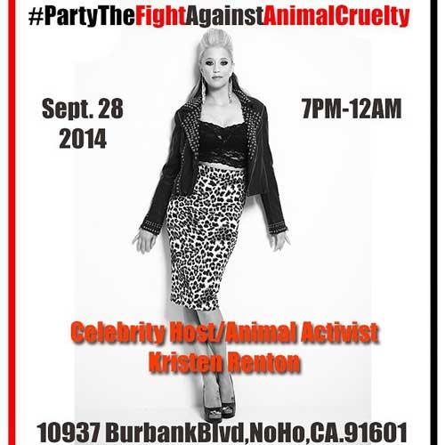#partythefightagainstanimalcruelty