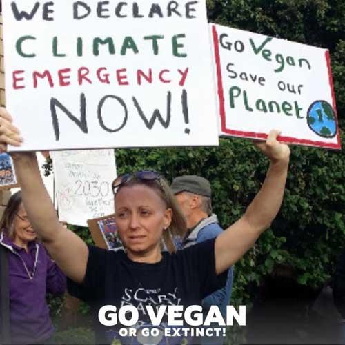 Go Vegan Or Go Extinct