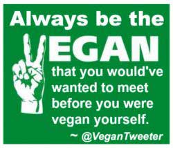 Animal Rights Activism Everyone Can Do Vegan Message