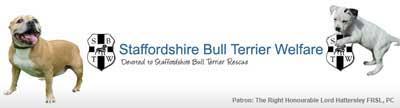 Staffordshire Bull Terrier Welfare Logo